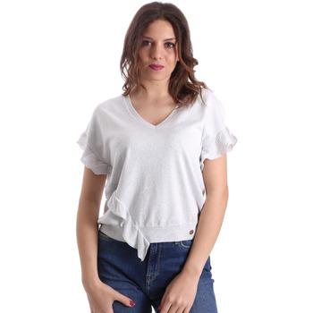 Oblečenie Ženy Blúzky Gaudi 911BD53010 Šedá