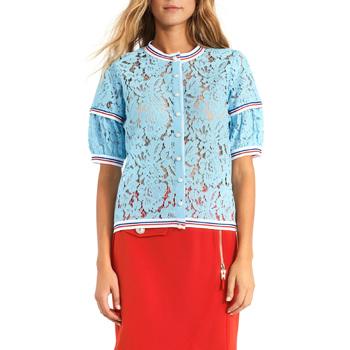 Oblečenie Ženy Blúzky Gaudi 911BD55001 Modrá