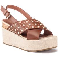 Topánky Ženy Sandále Lumberjack SW40006 006 Q12 Hnedá