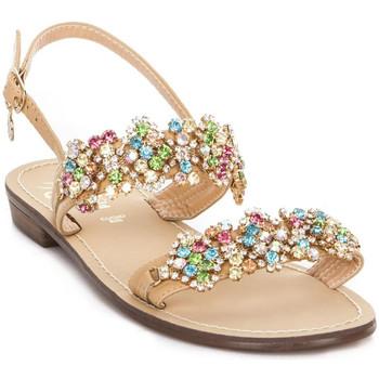 Topánky Ženy Sandále Gold&gold A19 GL306 Hnedá