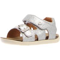 Topánky Dievčatá Sandále Naturino 1500763-04-0Q04 Striebro