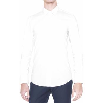 Oblečenie Muži Košele s dlhým rukávom Antony Morato MMSL00375 FA450001 Biely