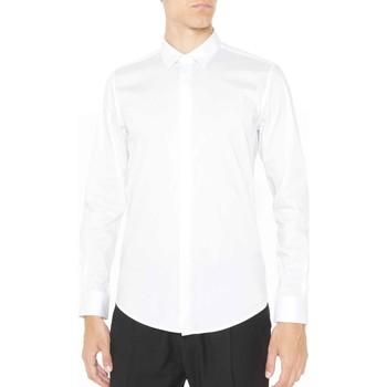 Oblečenie Muži Košele s dlhým rukávom Antony Morato MMSL00293 FA450001 Biely