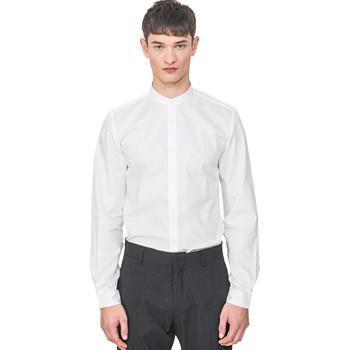 Oblečenie Muži Košele s dlhým rukávom Antony Morato MMSL00604 FA440031 Biely