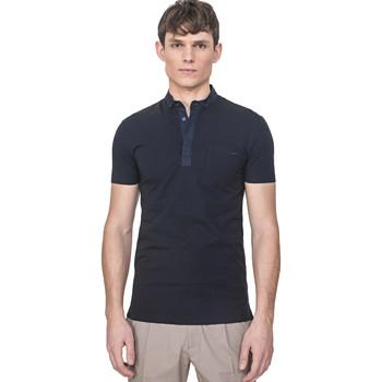 Oblečenie Muži Polokošele s krátkym rukávom Antony Morato MMKS01741 FA120022 Modrá