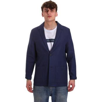 Oblečenie Muži Saká a blejzre Antony Morato MMJA00432 FA950158 Modrá