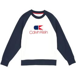 Oblečenie Muži Mikiny Calvin Klein Jeans K10K103940 Modrá