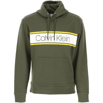 Oblečenie Muži Mikiny Calvin Klein Jeans K10K104401 Zelená