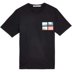 Oblečenie Muži Tričká s krátkym rukávom Calvin Klein Jeans J30J312834 čierna