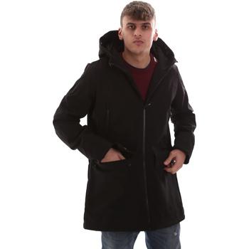 Oblečenie Muži Kabáty U.S Polo Assn. 52336 52251 čierna
