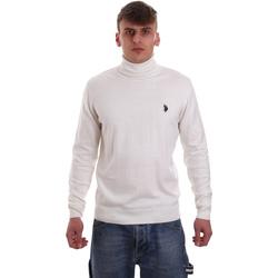 Oblečenie Muži Svetre U.S Polo Assn. 52484 48847 Biely