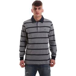 Oblečenie Muži Polokošele s dlhým rukávom Navigare NV30027 Šedá
