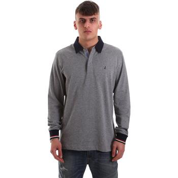 Oblečenie Muži Polokošele s dlhým rukávom Navigare NV32023 Šedá