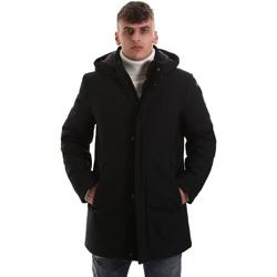 Oblečenie Muži Kabáty Navigare NV68081 čierna