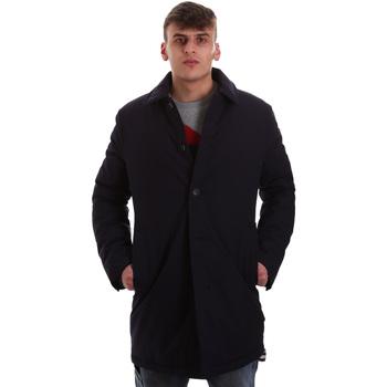 Oblečenie Muži Kabáty Gaudi 921FU35011 Modrá