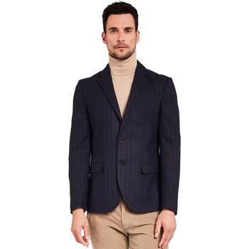 Oblečenie Muži Saká a blejzre Gaudi 921FU35057 Modrá