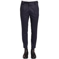 Oblečenie Muži Oblekové nohavice Gaudi 921FU25024 Modrá