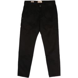 Oblečenie Muži Nohavice Chinos a Carrot Gaudi 921BU25008 čierna