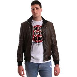 Oblečenie Muži Kožené bundy a syntetické bundy Gaudi 921BU38001 Hnedá