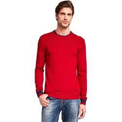 Oblečenie Muži Svetre Gaudi 921BU53012 Červená