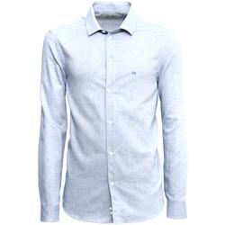 Oblečenie Muži Košele s dlhým rukávom NeroGiardini A973180U Modrá