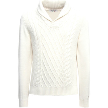 Oblečenie Muži Svetre NeroGiardini A974530U Biely