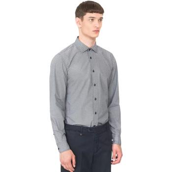 Oblečenie Muži Košele s dlhým rukávom Antony Morato MMSL00548 FA430389 Modrá