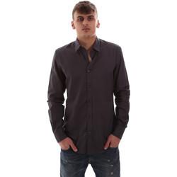 Oblečenie Muži Košele s dlhým rukávom Antony Morato MMSL00574 FA430403 Šedá