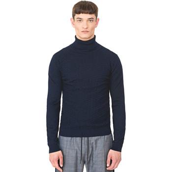 Oblečenie Muži Svetre Antony Morato MMSW00977 YA200055 Modrá