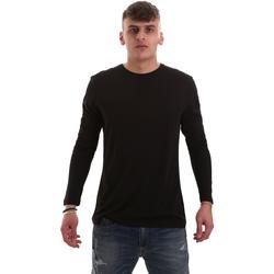 Oblečenie Muži Tričká s dlhým rukávom Antony Morato MMKL00264 FA100066 čierna