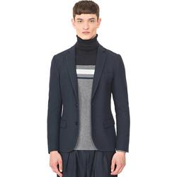 Oblečenie Muži Saká a blejzre Antony Morato MMJA00407 FA100130 Modrá