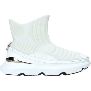 Topánky Muži Členkové tenisky Ea7 Emporio Armani X8Z019 XK121 Biely