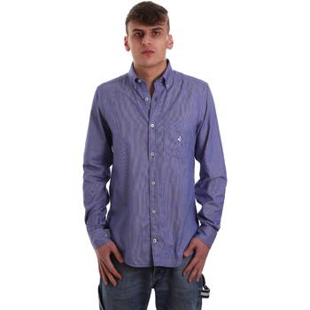 Oblečenie Muži Košele s dlhým rukávom Navigare NV91068 BD Modrá