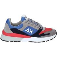 Topánky Muži Nízke tenisky Sun68 Z29116 Modrá