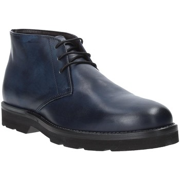 Topánky Muži Polokozačky Exton 44 Modrá