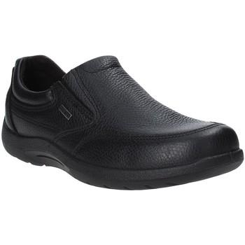 Topánky Muži Mokasíny Enval 4233400 čierna