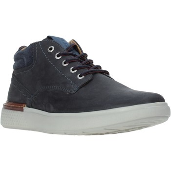 Topánky Muži Členkové tenisky Wrangler WM92101A Modrá