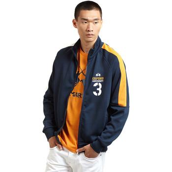 Oblečenie Muži Vrchné bundy La Martina OMF606 FP077 Modrá