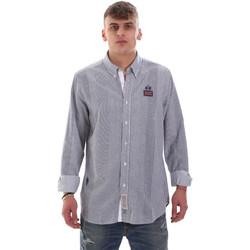 Oblečenie Muži Košele s dlhým rukávom La Martina OMC021 PP472 Biely