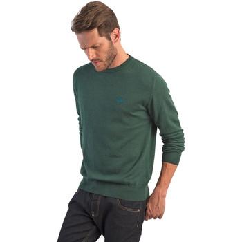 Oblečenie Muži Svetre La Martina OMS005 YW020 Zelená