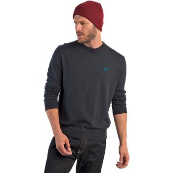 Oblečenie Muži Svetre La Martina OMS005 YW020 Modrá