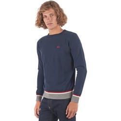 Oblečenie Muži Svetre La Martina OMS021 YW025 Modrá