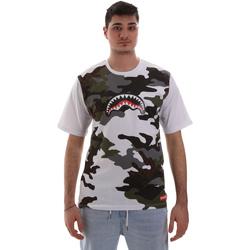 Oblečenie Muži Tričká s krátkym rukávom Sprayground SP023S Biely