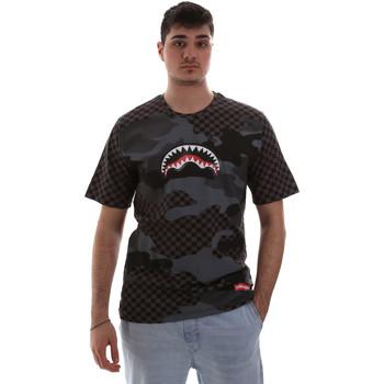 Oblečenie Muži Tričká s krátkym rukávom Sprayground SP018SBLA čierna