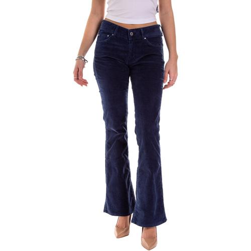 Oblečenie Ženy Nohavice päťvreckové Pepe jeans PL211343YD52 Modrá