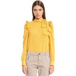 Oblečenie Ženy Blúzky Denny Rose 921ND45001 žltá