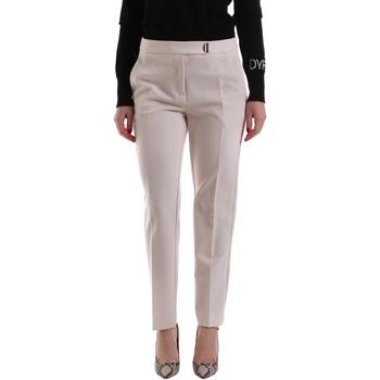 Oblečenie Ženy Nohavice Chinos a Carrot Gaudi 921FD25001 Béžová
