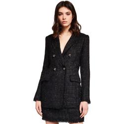 Oblečenie Ženy Saká a blejzre Gaudi 921FD35029 čierna