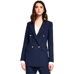 Oblečenie Ženy Saká a blejzre Gaudi 921FD35035 Modrá