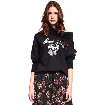 Oblečenie Ženy Mikiny Gaudi 921BD64030 čierna